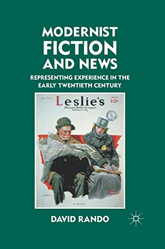 9781349295999: Modernist Fiction and News: Representing Experience in the Early Twentieth Century