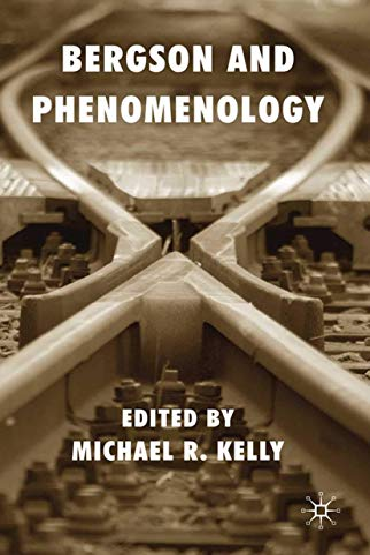 9781349300457: Bergson and Phenomenology