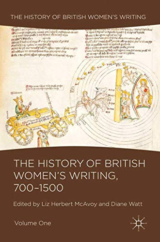 9781349313761: The History of British Women's Writing, 700-1500: Volume One