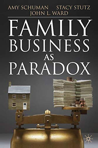 9781349318537: Family Business as Paradox (A Family Business Publication)