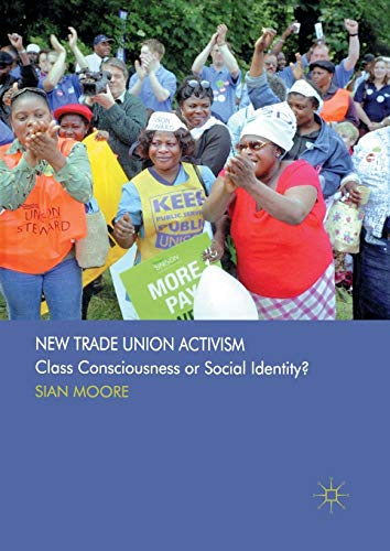 9781349318759: New Trade Union Activism: Class Consciousness or Social Identity?