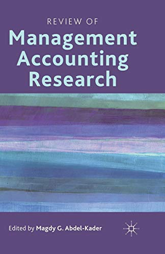 management accounting research Management accounting application report – answering the brief questions academic subject: accounting word count: 3000 submitted.