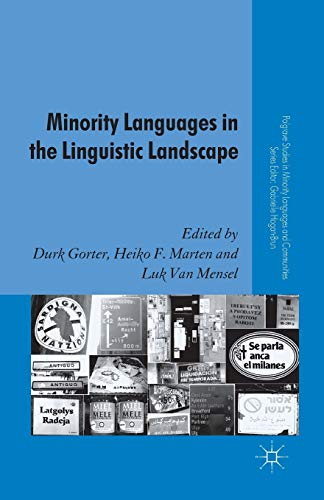 9781349323227: Minority Languages in the Linguistic Landscape (Palgrave Studies in Minority Languages and Communities)