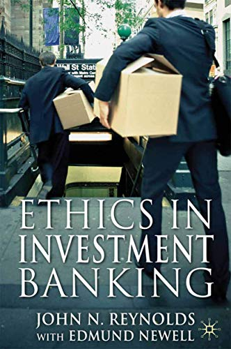 9781349330157: Ethics in Investment Banking