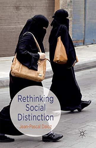 9781349336180: Rethinking Social Distinction