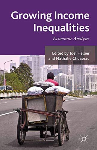 9781349338115: Growing Income Inequalities: Economic Analyses