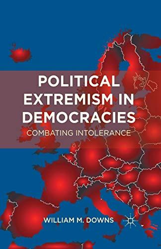 9781349343515: Political Extremism in Democracies: Combating Intolerance