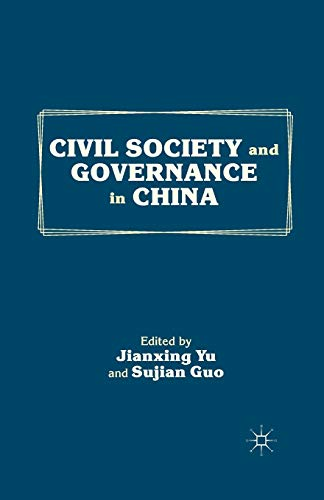 9781349343768: Civil Society and Governance in China