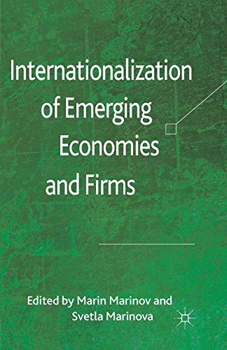 9781349345557: Internationalization of Emerging Economies and Firms