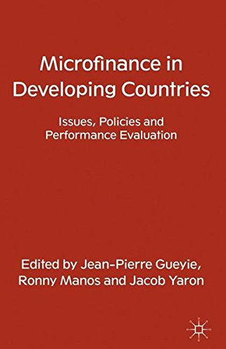 9781349345632: Microfinance in Developing Countries: Issues, Policies and Performance Evaluation