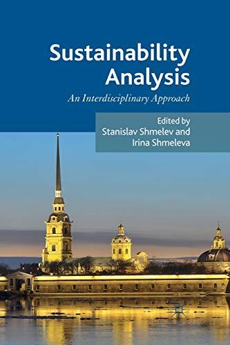 9781349346936: Sustainability Analysis: An Interdisciplinary Approach