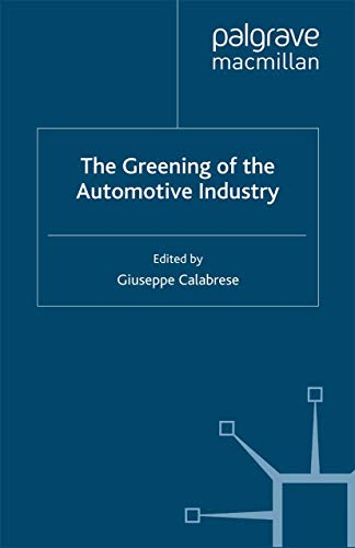 9781349350230: The Greening of the Automotive Industry