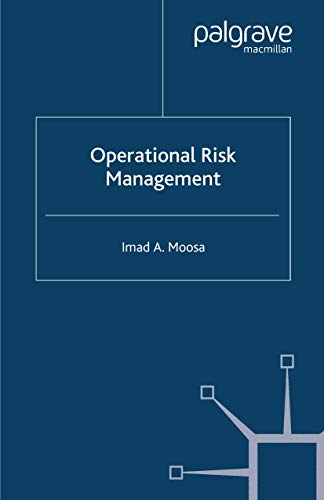 9781349352951: Operational Risk Management (Finance and Capital Markets Series)