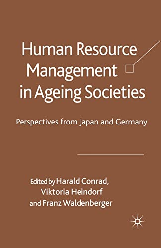 9781349353842: Human Resource Management in Ageing Societies: Perspectives from Japan and Germany