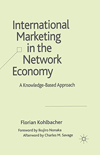 9781349354085: International Marketing in the Network Economy: A Knowledge-Based Approach