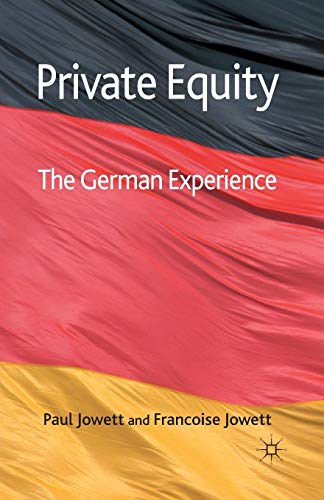 9781349359424: Private Equity: The German Experience