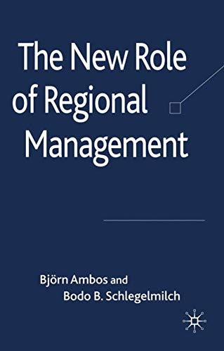 9781349359752: The New Role of Regional Management