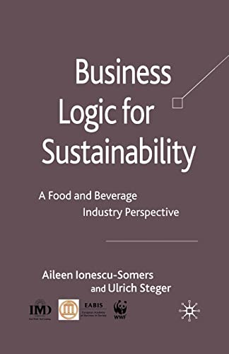 9781349362141: Business Logic for Sustainability: A Food and Beverage Industry Perspective
