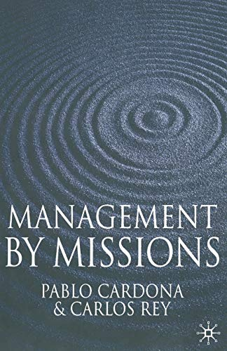 9781349362400: Management by Missions