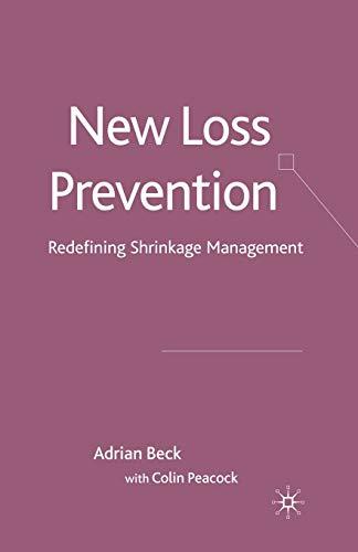 9781349365821: New Loss Prevention: Redefining Shrinkage Management