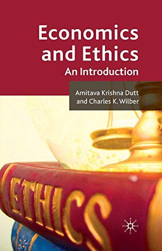 9781349365920: Economics and Ethics: An Introduction