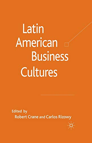 9781349368693: Latin American Business Cultures