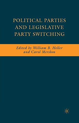 9781349374250: Political Parties and Legislative Party Switching