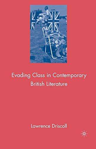 9781349379033: Evading Class in Contemporary British Literature