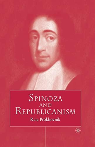 9781349407637: Spinoza and Republicanism