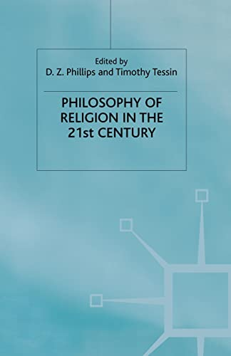 9781349421336: Philosophy of Religion in the Twenty-First Century (Claremont Studies in the Philosophy of Religion)