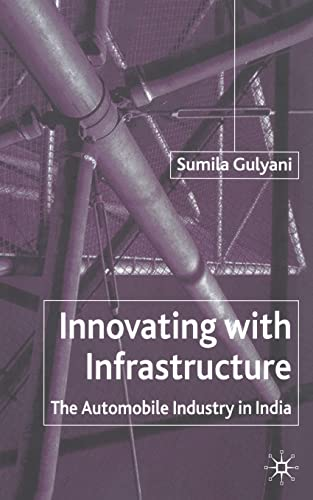9781349423200: Innovating with Infrastructure: The Automobile Industry in India
