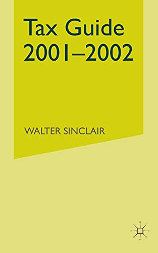 9781349426218: Tax Guide 2001–2002