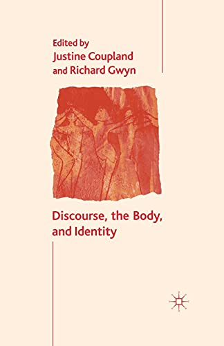 9781349428946: Discourse, the Body, and Identity