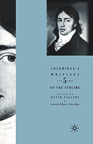 9781349429677: Coleridge's Writings: On the Sublime