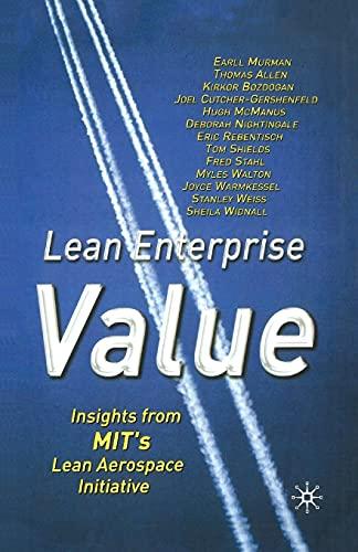9781349429974: Lean Enterprise Value: Insights from MIT's Lean Aerospace Initiative
