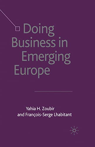 9781349431793: Doing Business in Emerging Europe