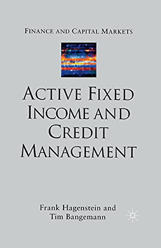 9781349432196: Active Fixed Income and Credit Management (Finance and Capital Markets Series)