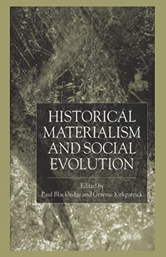 9781349432561: Historical Materialism and Social Evolution