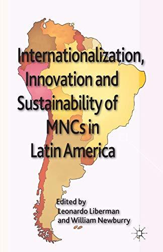 9781349438488: Internationalization, Innovation and Sustainability of MNCs in Latin America (AIB Latin America)