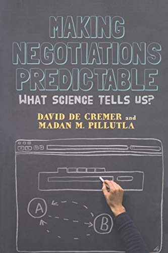 9781349438655: Making Negotiations Predictable: What Science Tells Us
