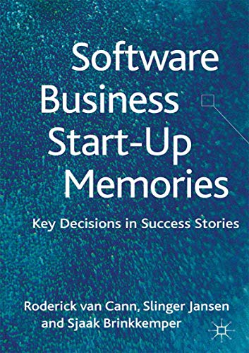 9781349447732: Software Business Start-up Memories: Key Decisions in Success Stories
