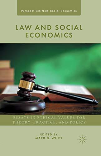 Law and Social Economics: White, M.