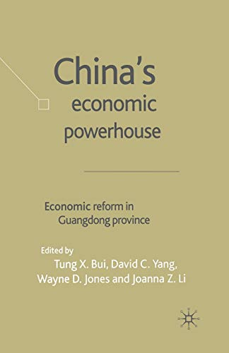 9781349509072: China's Economic Powerhouse: Economic Reform in Guangdong Province