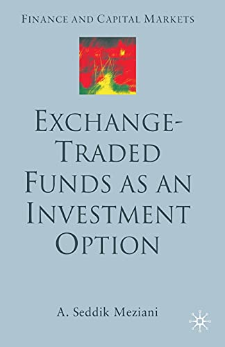 9781349516254: Exchange Traded Funds as an Investment Option (Finance and Capital Markets Series)