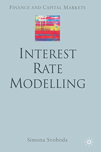 9781349517329: Interest Rate Modelling (Finance and Capital Markets Series)