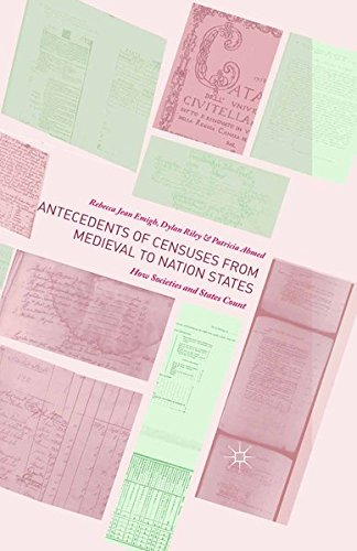 9781349553594: Antecedents of Censuses from Medieval to Nation States: How Societies and States Count
