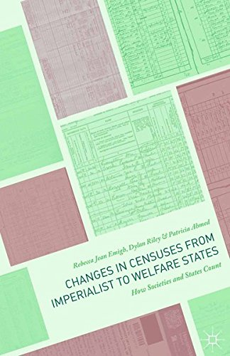 9781349555567: Changes in Censuses from Imperialist to Welfare States: How Societies and States Count