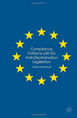 9781349556816: Compliance Patterns with EU Anti-Discrimination Legislation