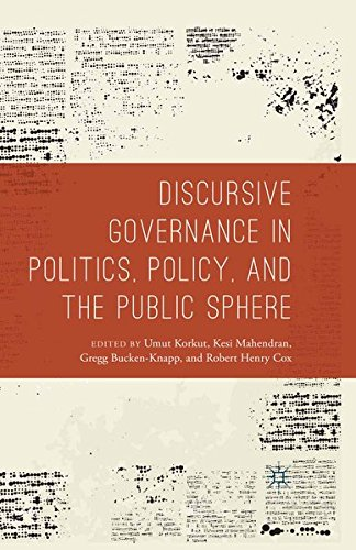 9781349558858: Discursive Governance in Politics, Policy, and the Public Sphere