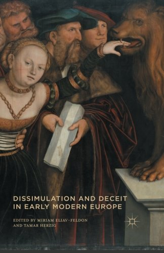 9781349558896: Dissimulation and Deceit in Early Modern Europe